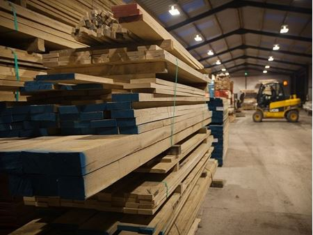 Picture for category Sawn to Size Kiln Dried Oak