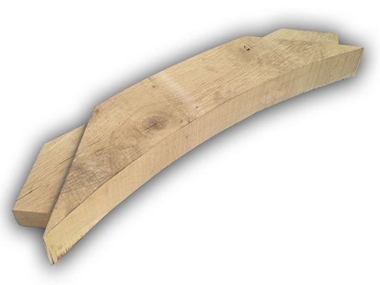 European Oak Windbrace for framing. Fresh Sawn. In stock at Venables Brothers Ltd.