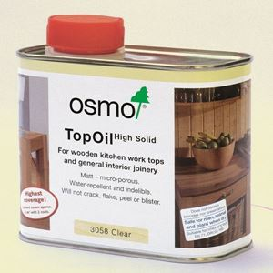 Osmo Top Oil 3058 available from Venables Brothers Ltd