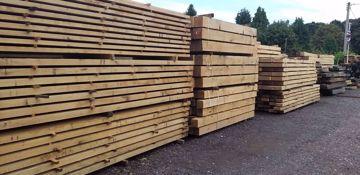 Picture of Fresh Sawn Structural Grade European Oak