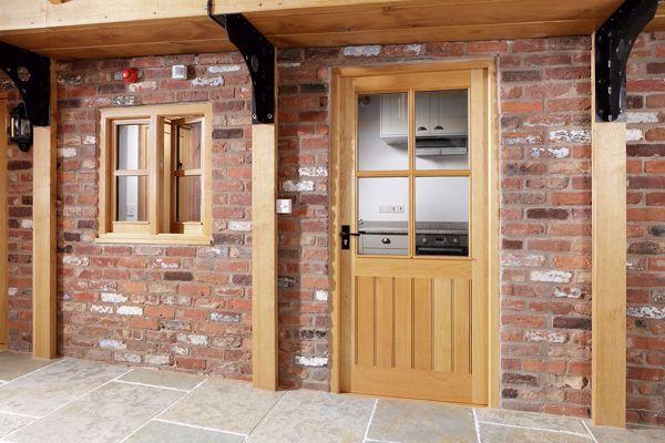Picture of Half Glazed 4 Pane Doors